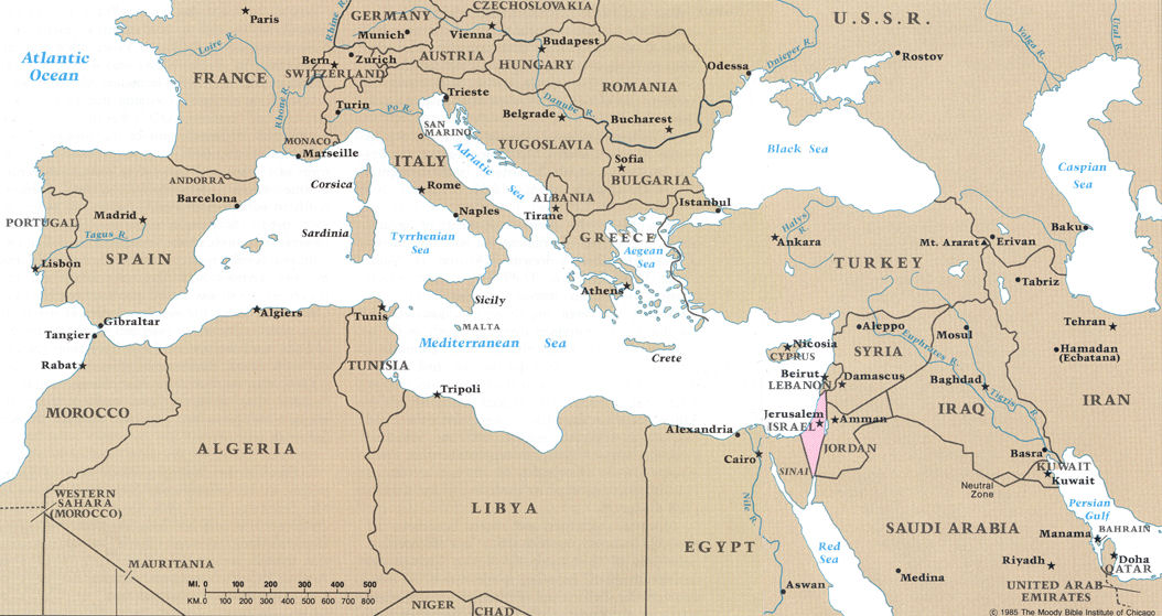 BIBLICAL INTRODUCTION Adults - Map of egypt canaan